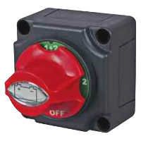 Marine Battery Isolator with Fixed Control Knob