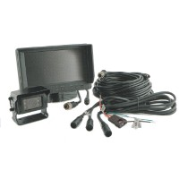 Elite Twin Camera Monitor System for Trucks with Drawbar Trailers - 7.0