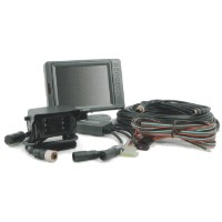 Elite Twin Camera Monitor System for Trucks with Drawbar Trailers - 5.6