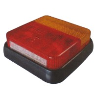 LED Rear Trailer Square  Lamp