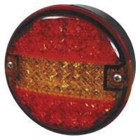 Mounting Bezel  for Surface Mounting of 12v/24v LED Commercial Rear Lamp.