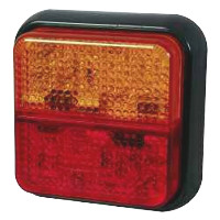 Rear Lamp, 12v/24v LED