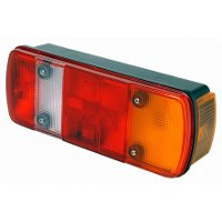 M465 'Rubbolite' Left Handed Rear Combination Lamp with Side Marker and Number Plate Lamp