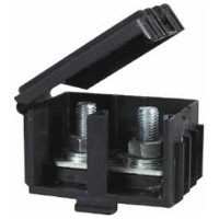 Black Moulded Insulated Housing for Cables up to 25mm²