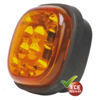 Dual Voltage 12 - 24 Volt LED Direction Indicator Lamp