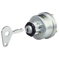 Four Position Ignition Switch, Off/Ignition/Pre-Heat/Heat Start. Replaces Lucas 34228, 35670
