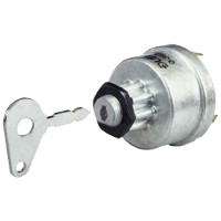 Four Position Ignition Switch, Off/Ignition/Pre-Heat/Heat Start. Replaces Lucas 35327