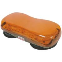Slimline LED Warning Minibar, Magnetic, 12/24v