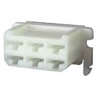 6.3mm Female Receptacle Housing - Six Way