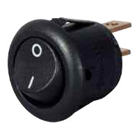 On/Off Single Pole Switch Miniature Plastic Rocker