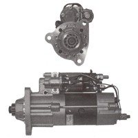 Van Hool Starter Motor, Various Engines, Part No
