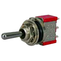 Change Over or On/Off/Momentary On or Momentary Change Over Three Position Single Pole Miniature Lever Switch