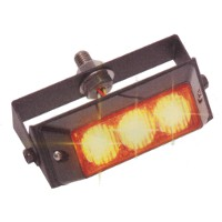 Dual Voltage LED Amber Warning Lamp