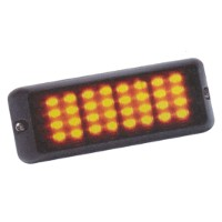 Dual Voltage 32 LED Amber Warning Lamp