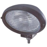 12 or 24 Volt Halogen Bulb Flood Work Lamp