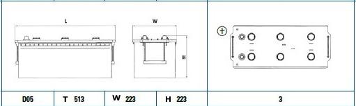 Exide 629SE diagram