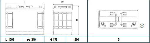 Exide 655SE diagram