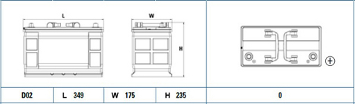 Exide 663SE diagram