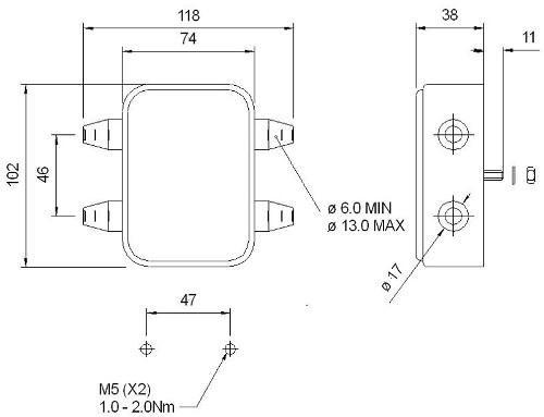M180 Junction Box - 8 Way