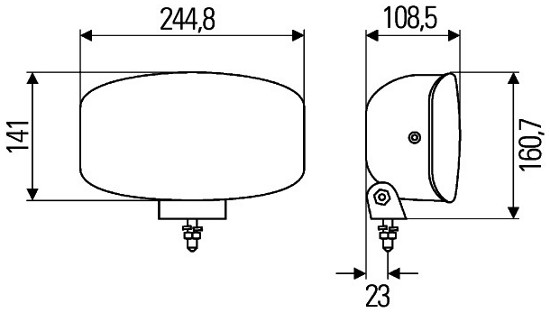 Jumbo 320 FF - Spotlight (ECE Ref. 37.5)